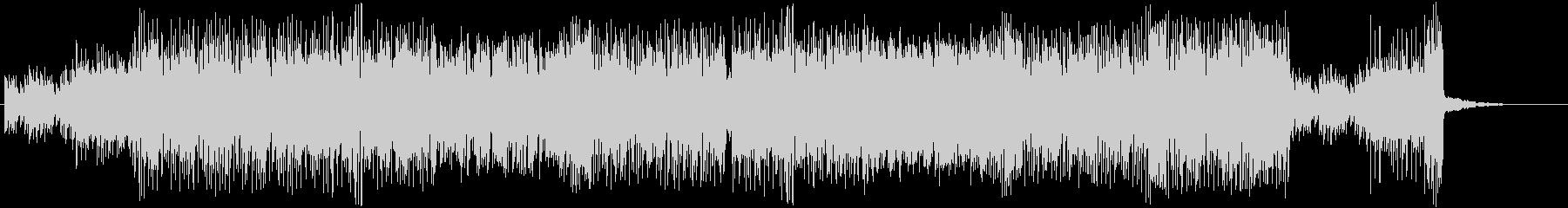 シンセサイザーのカラフルで楽しいポップスの未再生の波形