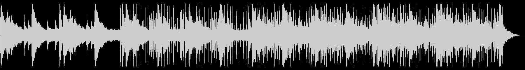 爽やかモーニング/R&B_No598_3の未再生の波形