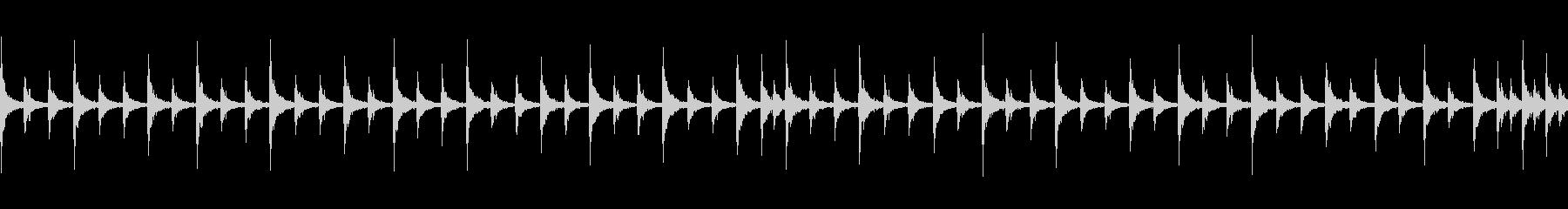 ブラスバンドスネアとシンバルのジングルの未再生の波形