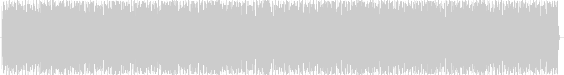 にぎやかで楽しいラテンサウンドの未再生の波形