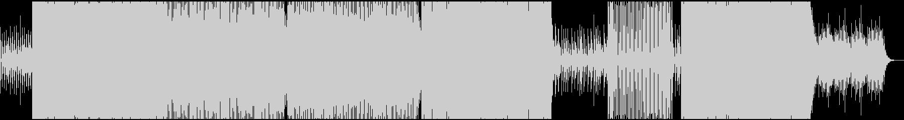 キラキラしたどこか切ないBGMの未再生の波形