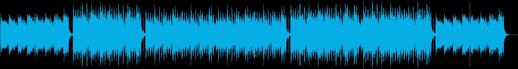 エレガントバイオリンポップ:メロディ抜きの再生済みの波形