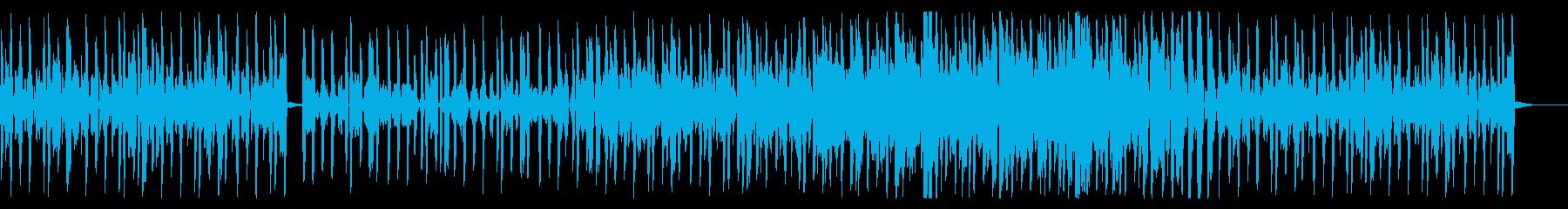 ビートの効いた哀愁溢れるR&Bの再生済みの波形