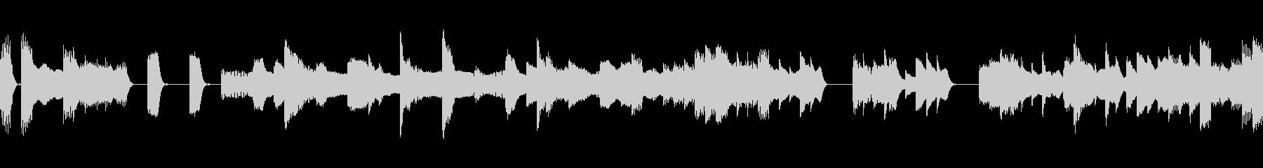 シンプル ブギーピアノ お料理 レビューの未再生の波形