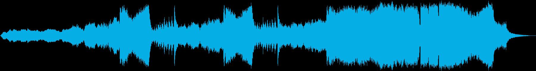 「ツァラトゥストラはかく語りき」全冒頭部の再生済みの波形