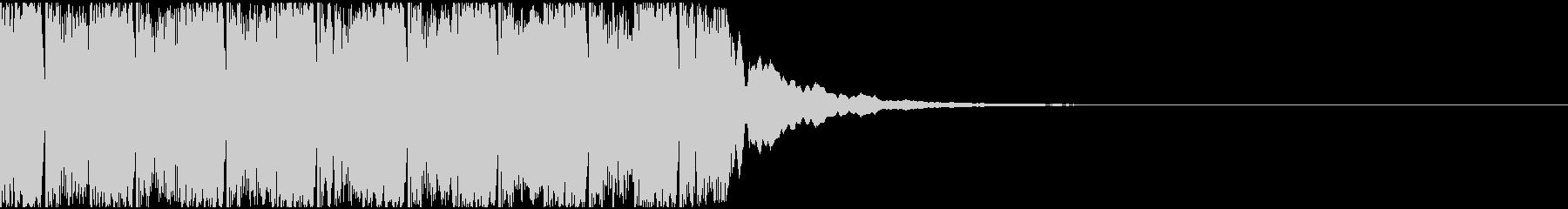 【アンビエント】ロング1、ショート3の未再生の波形