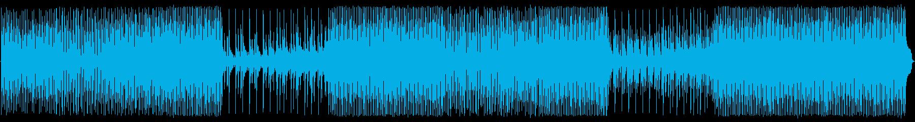 ベル、ピアノ、アコースティックギタ...の再生済みの波形