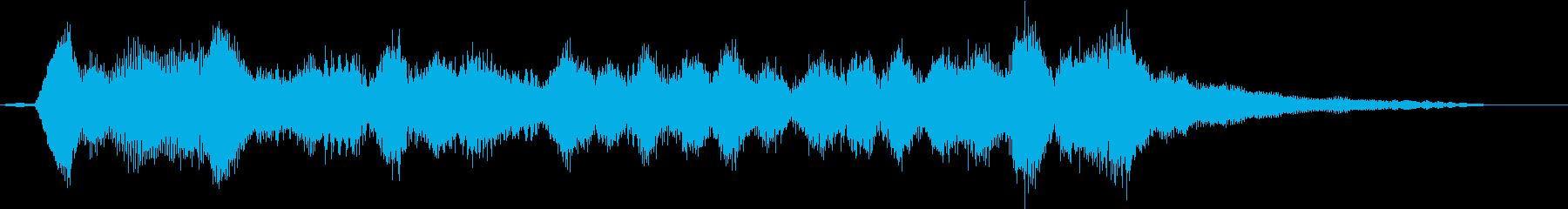 リアル弦楽四重奏の美しい重なりが印象的の再生済みの波形