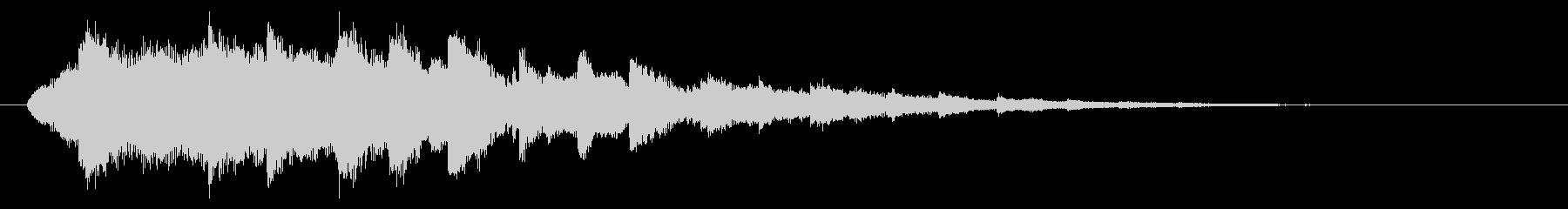 ベル系☆パソコン起動音風ジングル 3の未再生の波形
