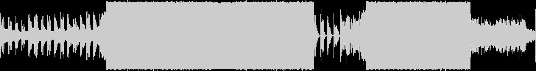 プログレッシブハウス。の未再生の波形