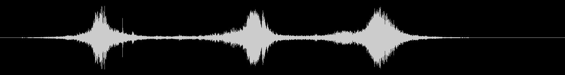 カートインディカー;加速によって(...の未再生の波形