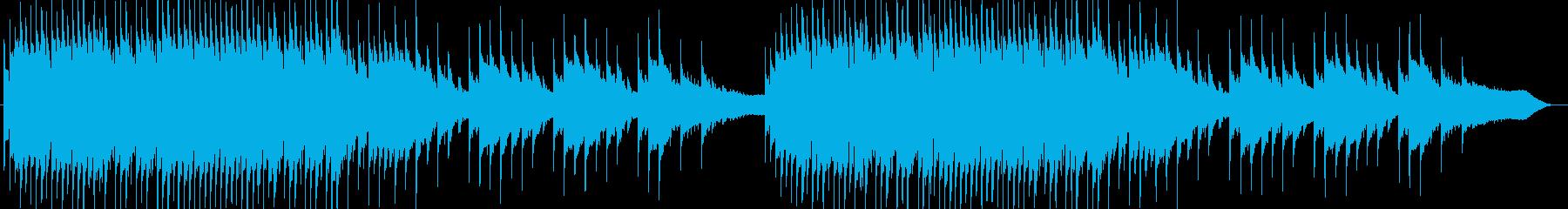 回想シーンに合いそうな雰囲気の曲の再生済みの波形