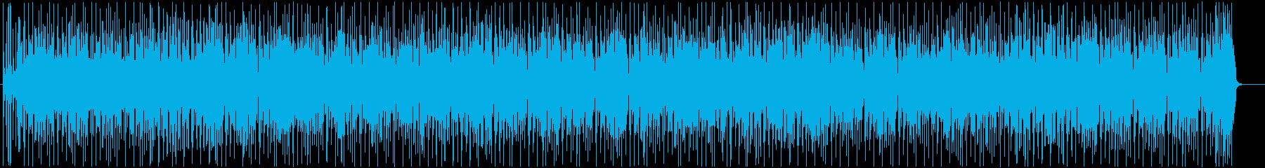 ファンキーで軽快な雰囲気のポップス☆の再生済みの波形