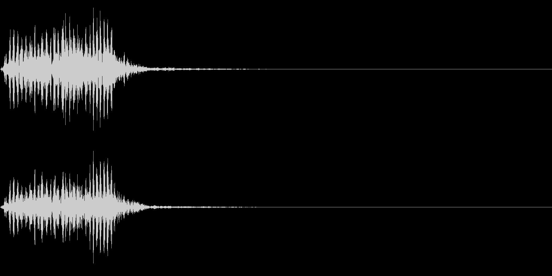 【生録音】フラミンゴの鳴き声 42の未再生の波形