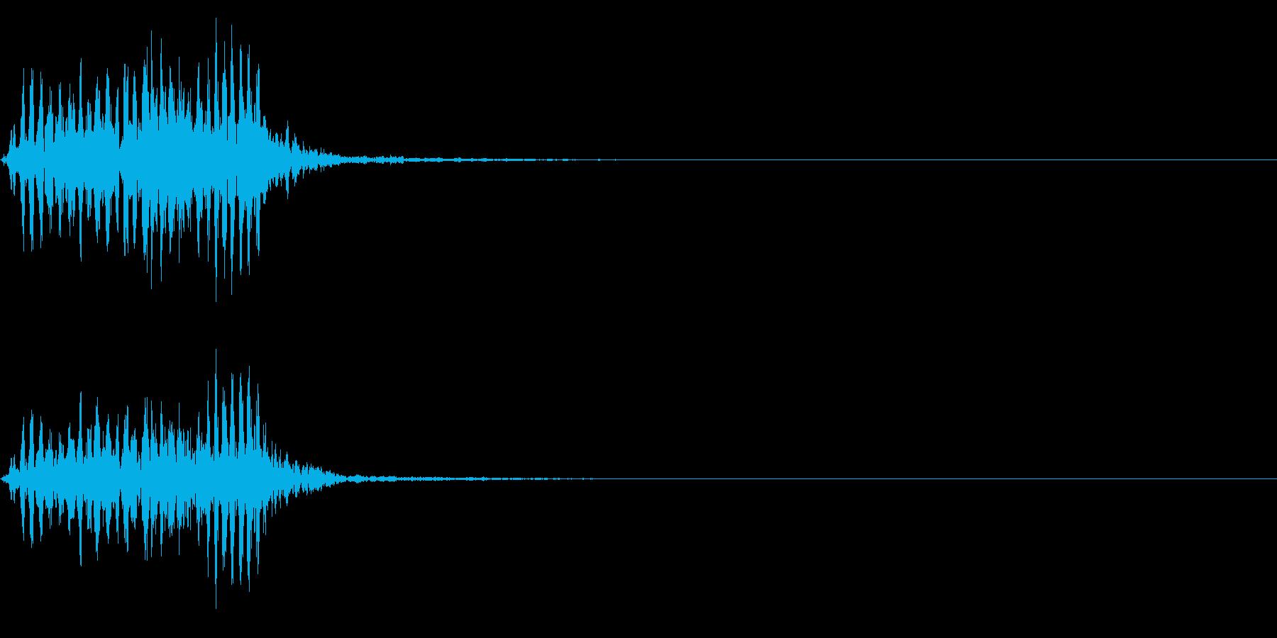 【生録音】フラミンゴの鳴き声 42の再生済みの波形