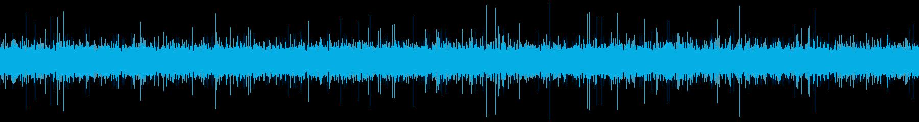 田舎の用水路の水音 ループ の再生済みの波形