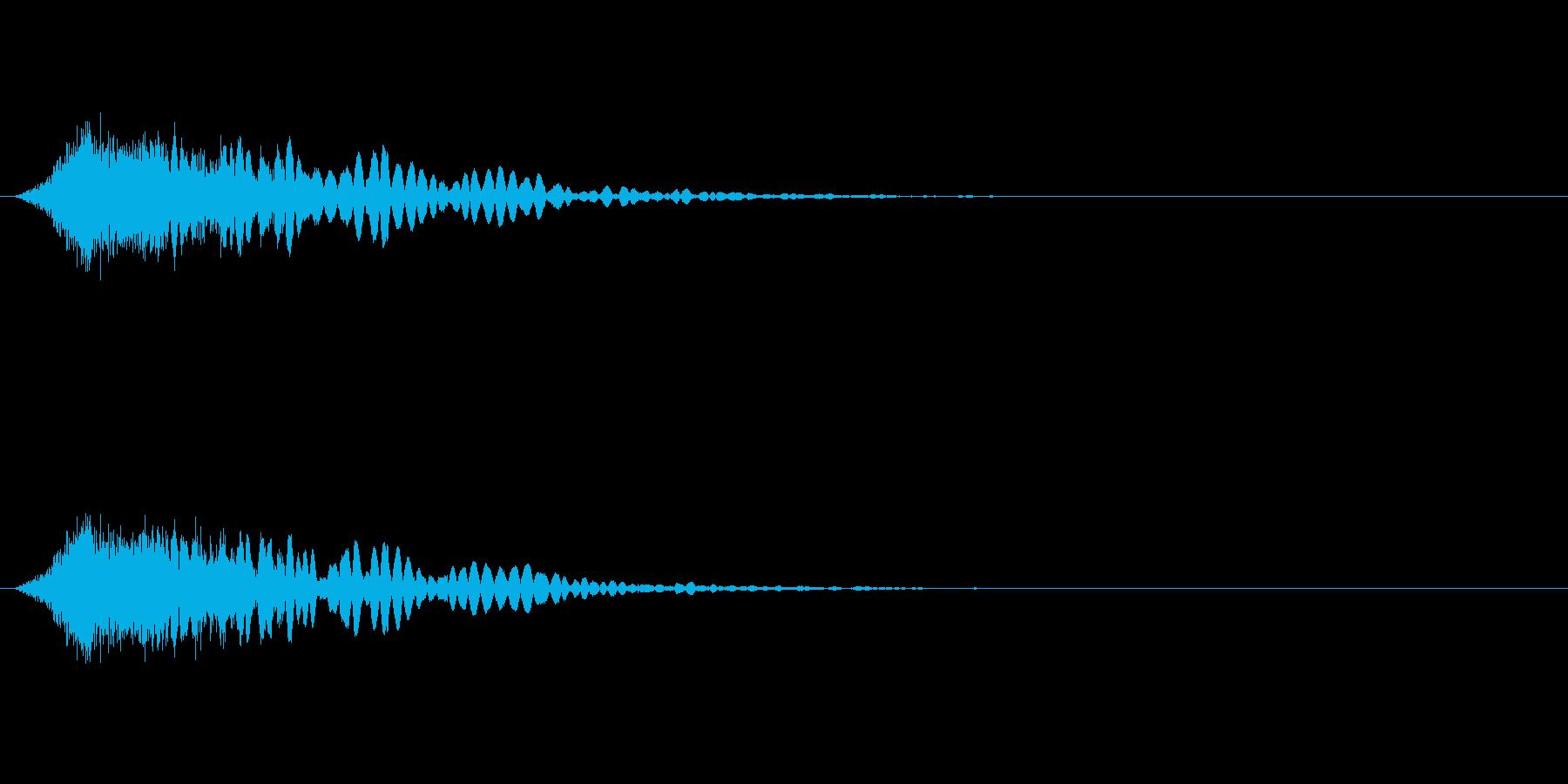 剣(ソード)シャキンッ!の再生済みの波形
