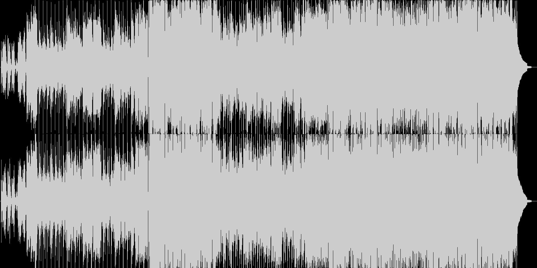 三拍子のピアノ旋律曲の未再生の波形
