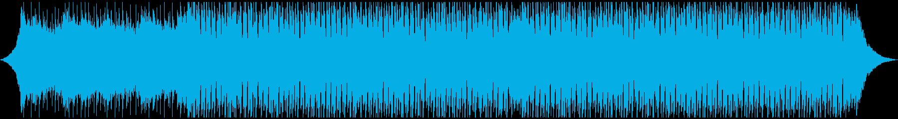 ポップ テクノ アンビエント 未来...の再生済みの波形