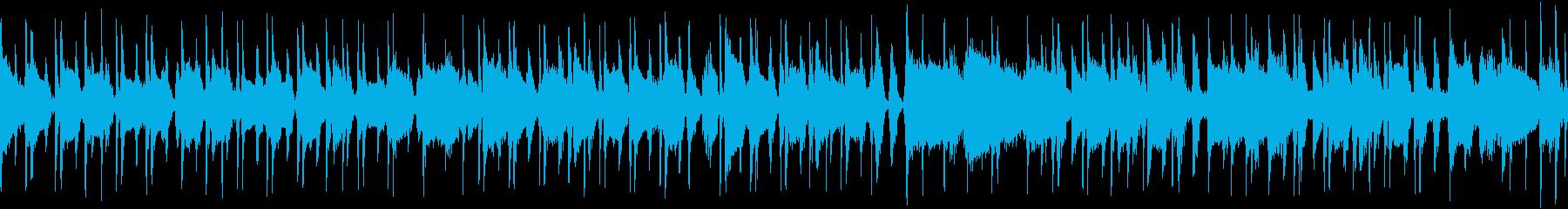 Cartoon シンセサイザー ア...の再生済みの波形