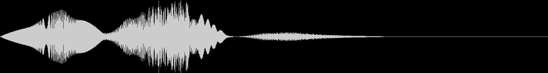 コミカルな動画制作用の効果音_ぴよぴよの未再生の波形