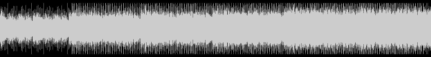 建設(ループ)の未再生の波形