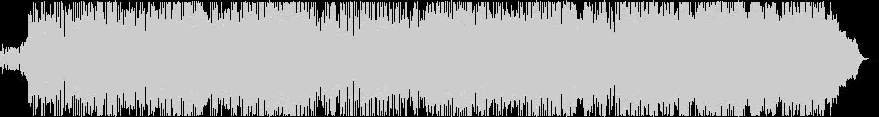 フュージョン風のノリの良いテクノポップの未再生の波形