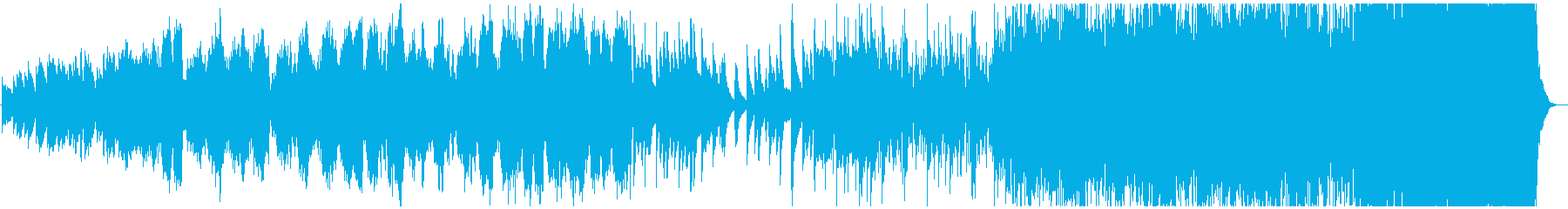 ピアノとストリングスの悲しいエンディングの再生済みの波形