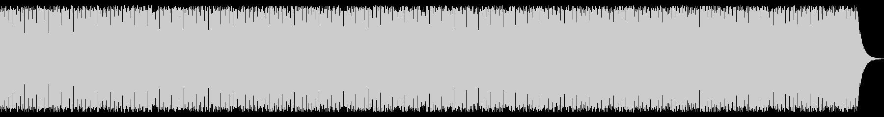 追いかけるシーンのBGMの未再生の波形