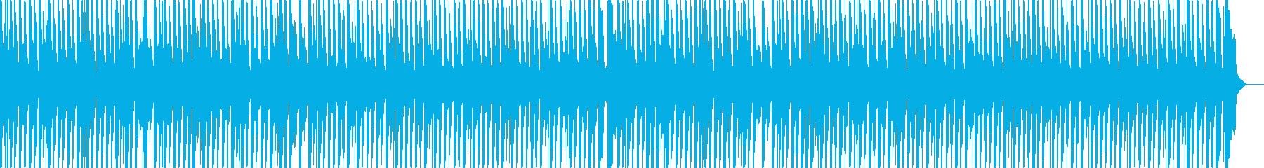 絵本 アニメ かわいいBGM の再生済みの波形