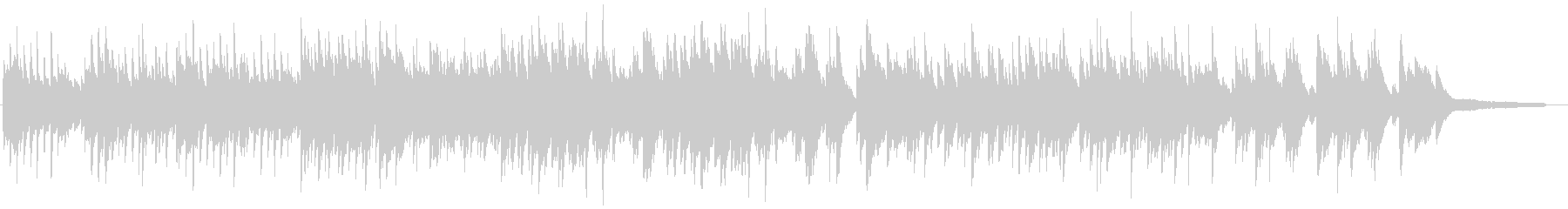 優しい 明るめのピアノソロ バラードの未再生の波形
