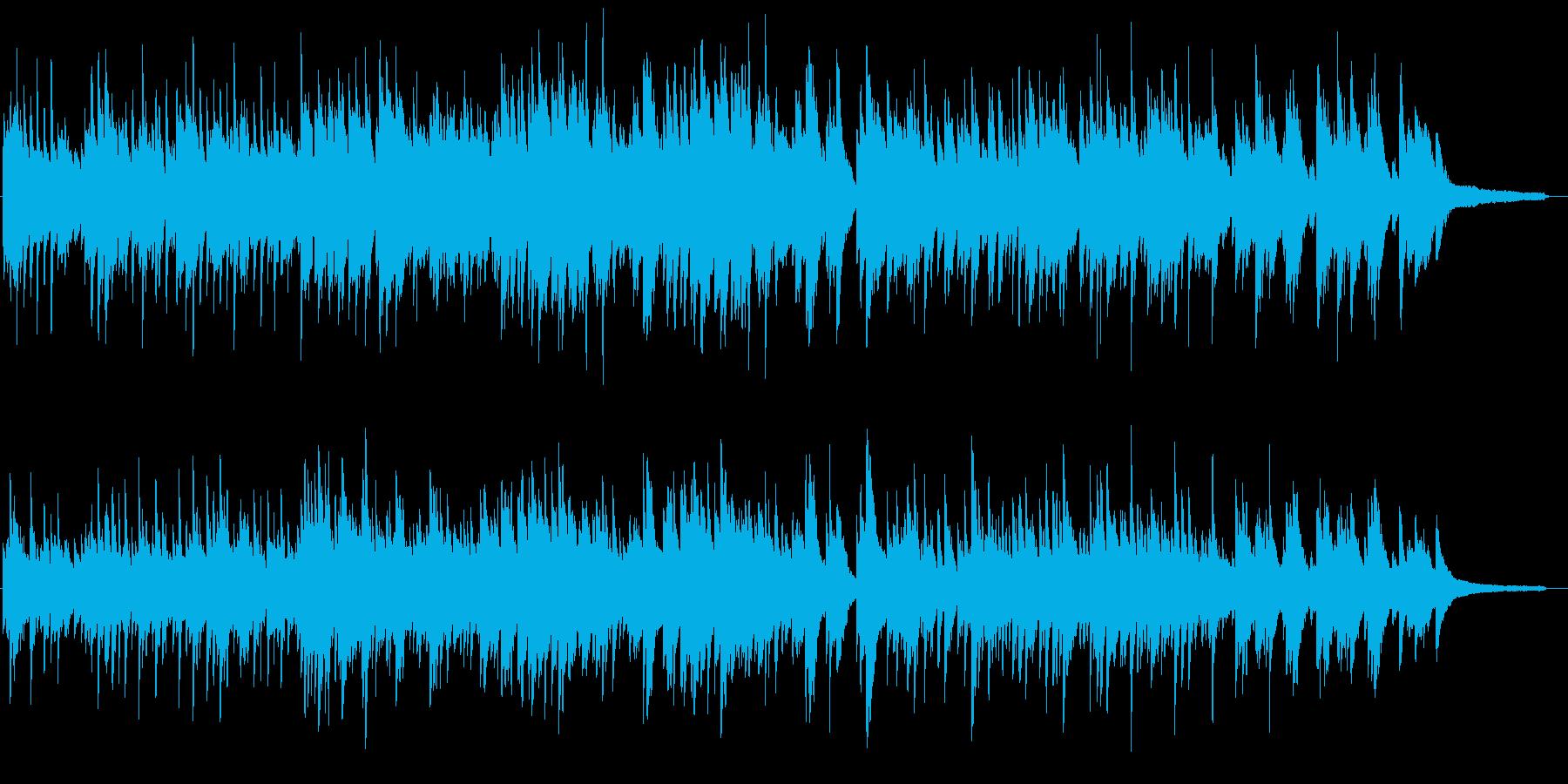 優しい 明るめのピアノソロ バラードの再生済みの波形