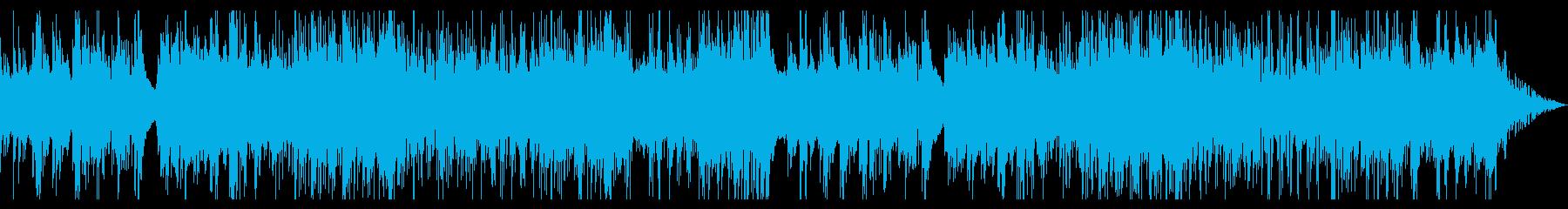 スパニッシュ風ギターアルペジオ 寂寥感の再生済みの波形