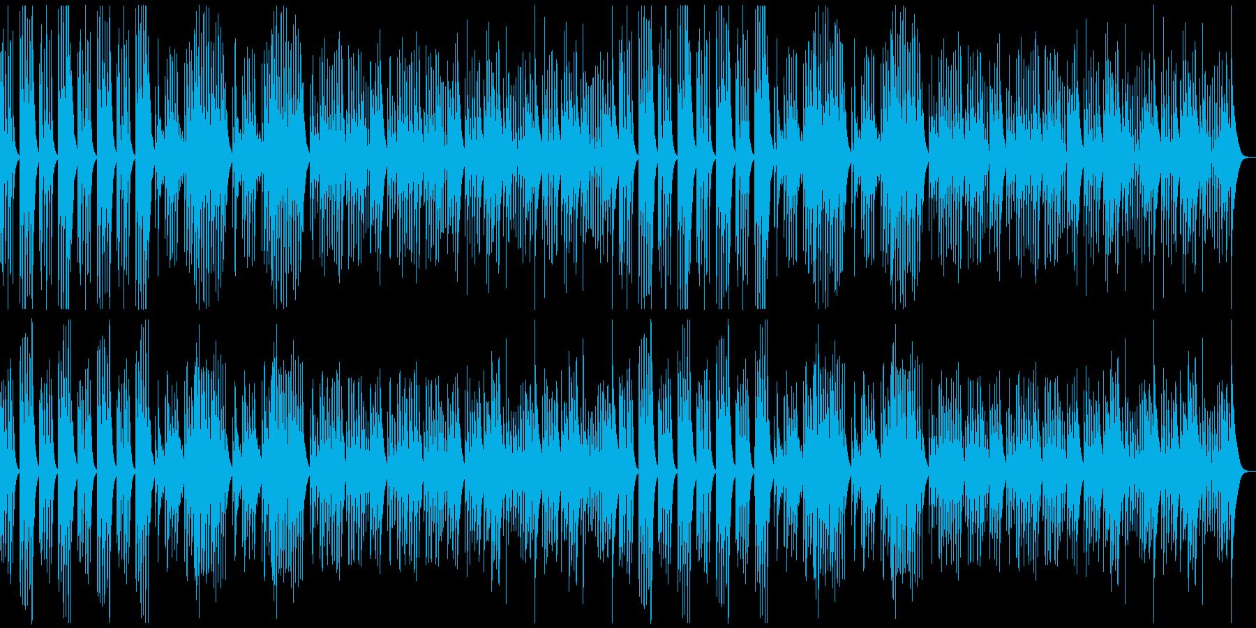 調理のシーンで超有名な曲【マリンバ】の再生済みの波形