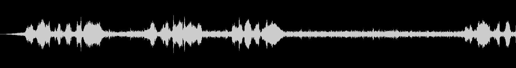 メロネロ0-14の未再生の波形