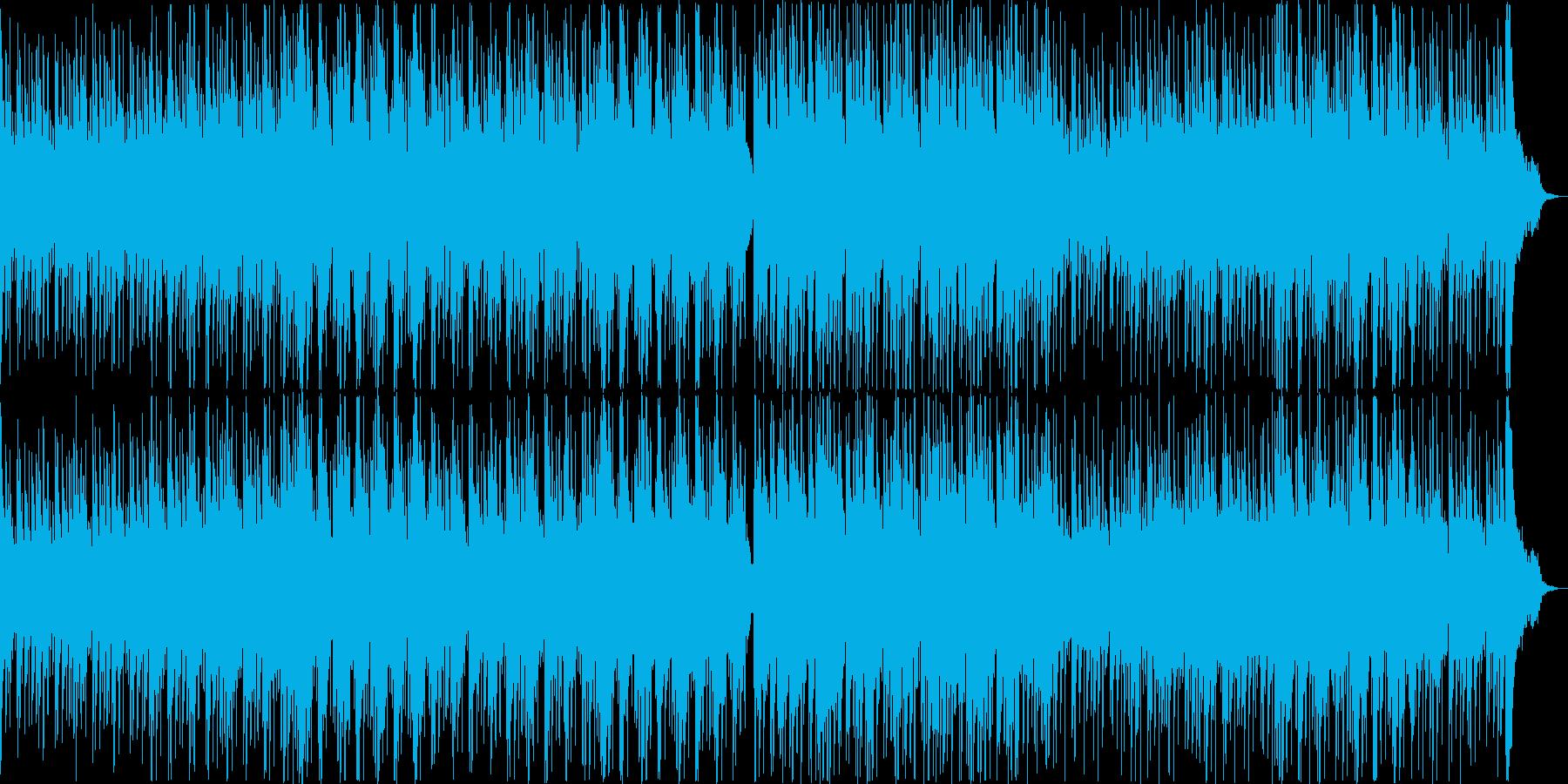 アコースティックギターとR&Bスタ...の再生済みの波形