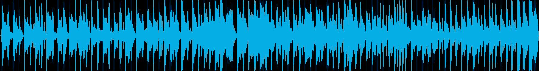 キャンプ、アウトドアのBGMの再生済みの波形