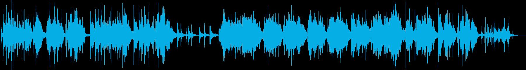 ピアノソロ グリーンスリーブス 切ないの再生済みの波形