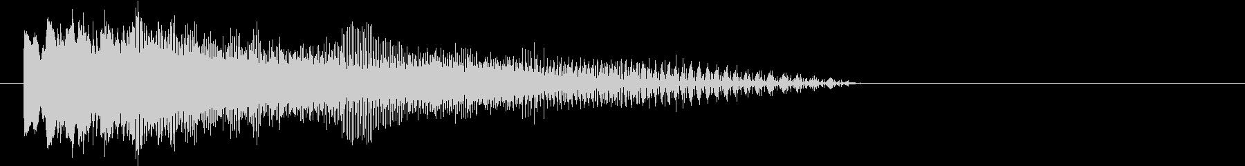 【SF】落下音の未再生の波形