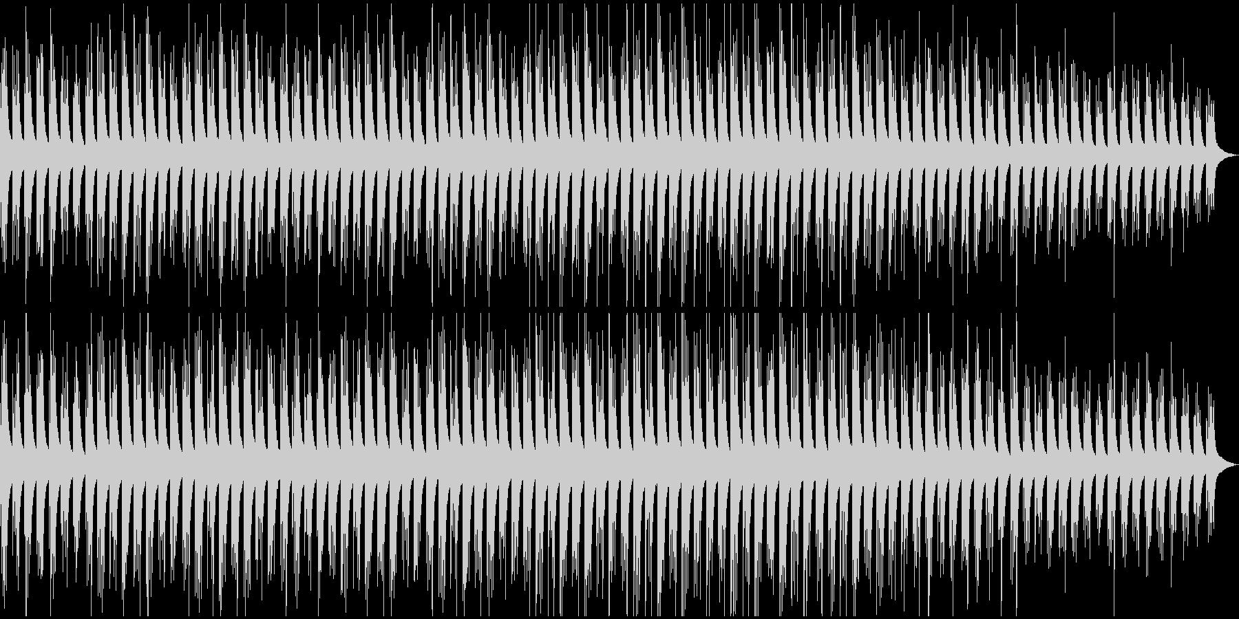 シンプルな繰り返しによるピアノ曲 人生の未再生の波形