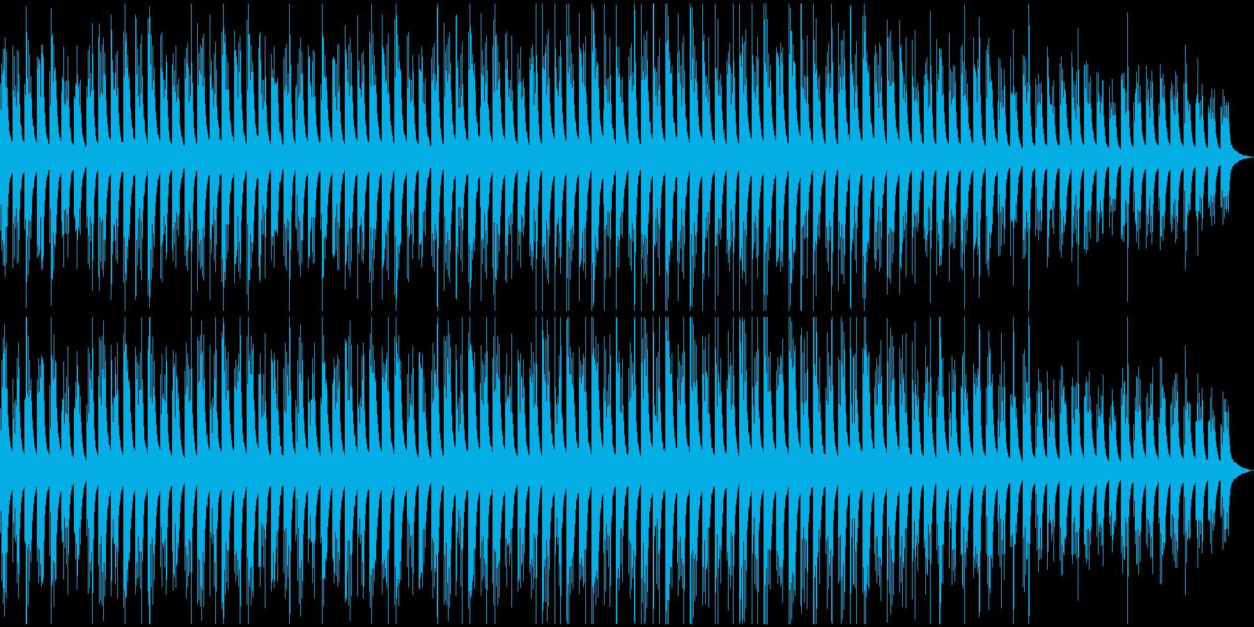 シンプルな繰り返しによるピアノ曲 人生の再生済みの波形