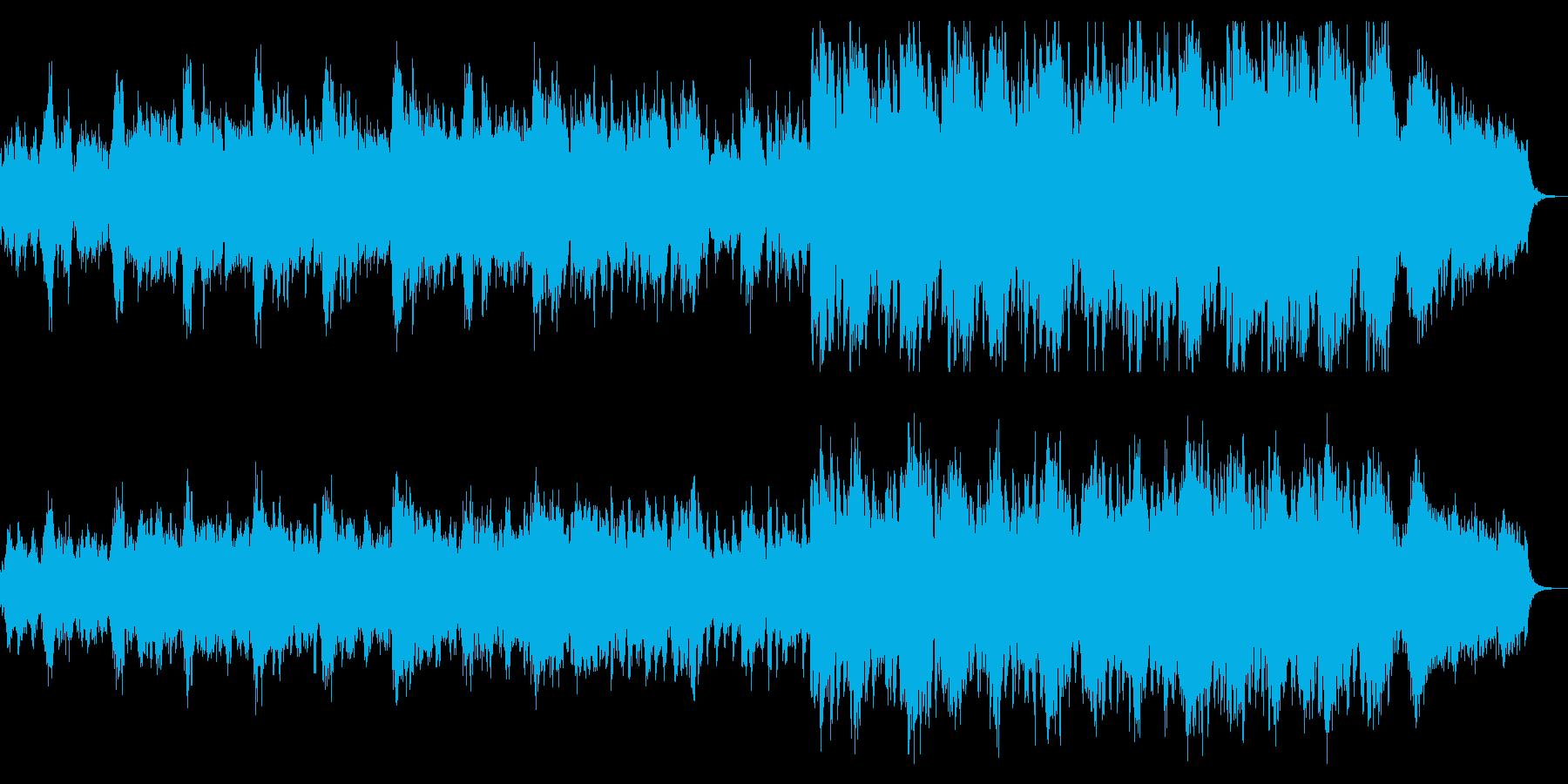 オーケストラ風味の村の楽曲の再生済みの波形
