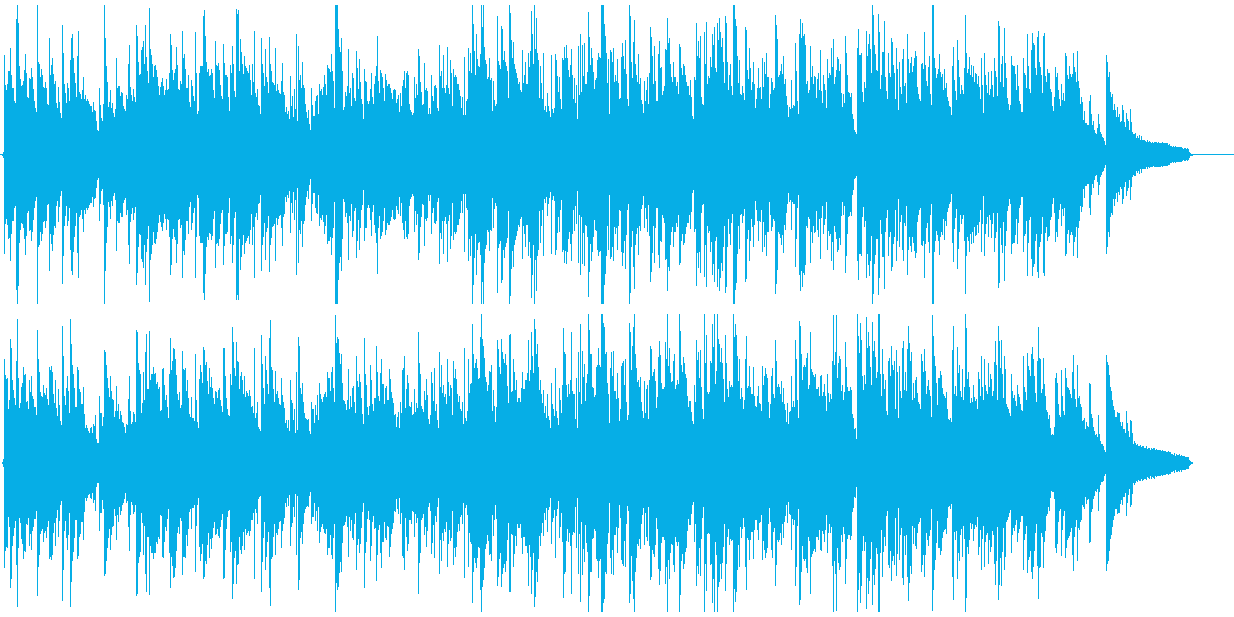 凛々しい音色のサックス、綺麗系ジャズの再生済みの波形