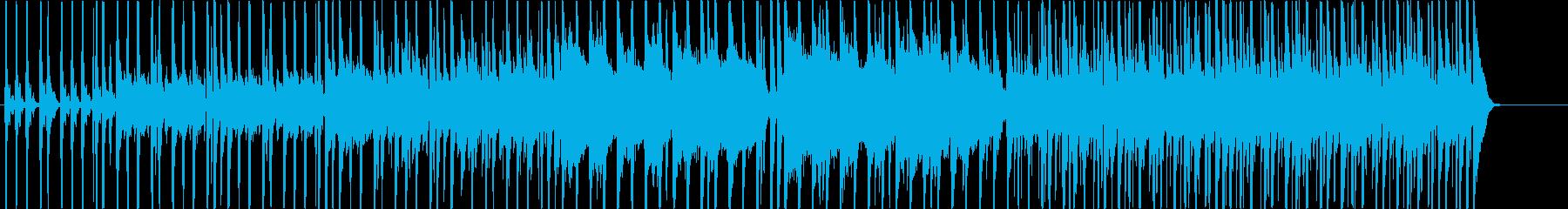 ポップインストゥルメンタル。弾む、...の再生済みの波形
