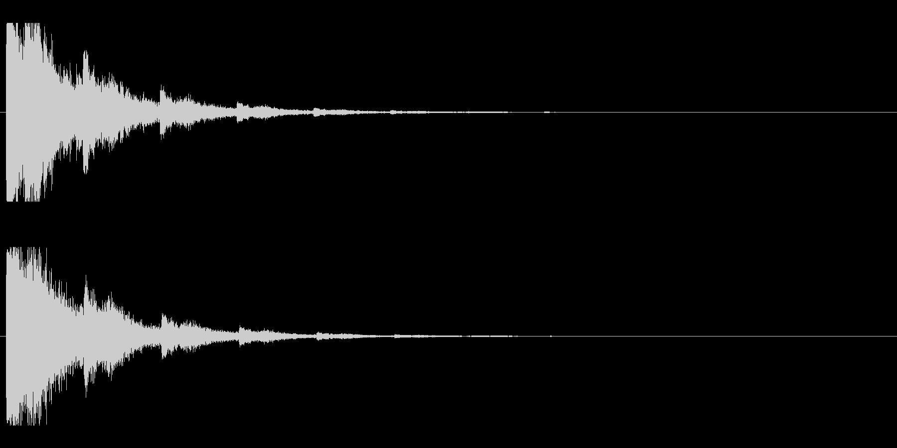 レーザー音-04-2の未再生の波形