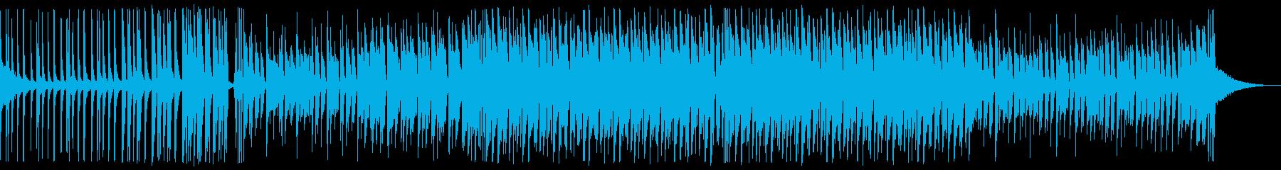 爽やかなEDM_3の再生済みの波形