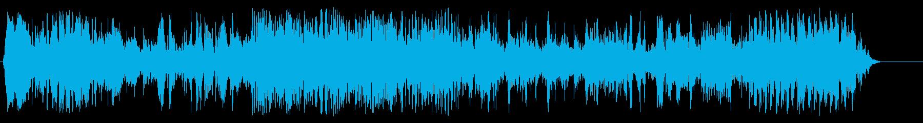 スロットマシンの再生済みの波形