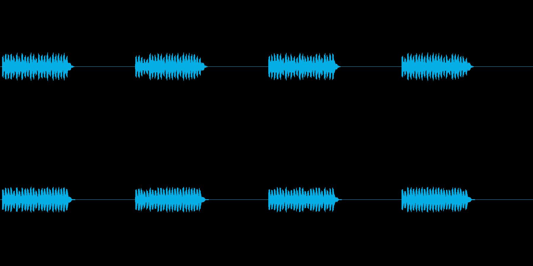 【携帯電話 着信音01-2L】の再生済みの波形