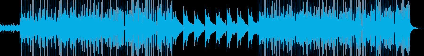 クールでモダンなピアノトリインストジャズの再生済みの波形