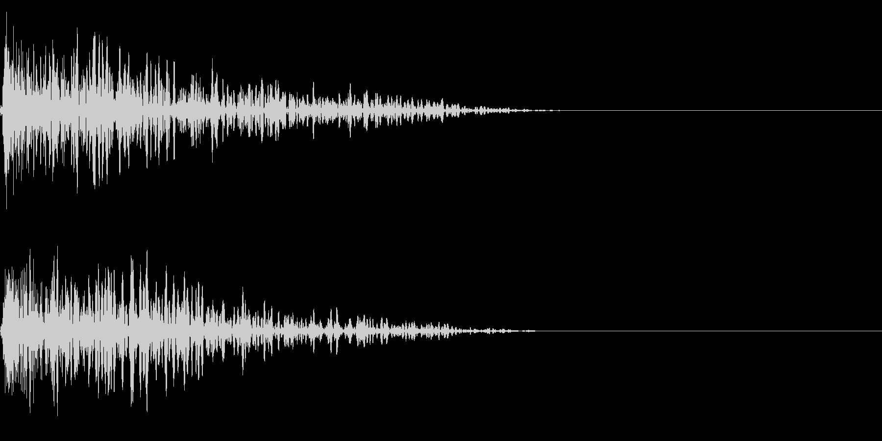 ボカーン (落雷・炎の魔法・爆発音)の未再生の波形